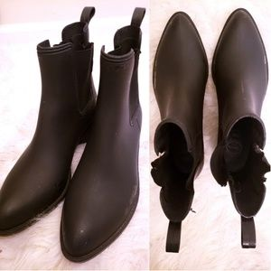 Jeffery Campbell Forecast Chelsea Rain Boot 10